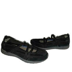 Rockport Leather Maryjane Mesh Walking Shoes 7.5m